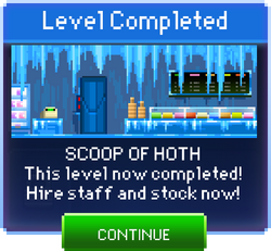 Message Scoop of Hoth Complete
