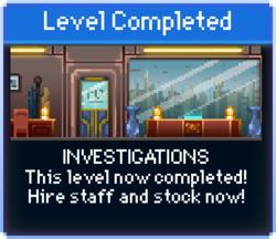 Message Investigations Complete