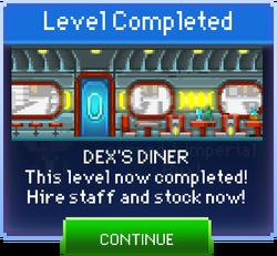 Message Dex's Diner Complete