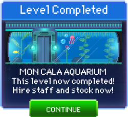 Message Mon Cala Aquarium Complete