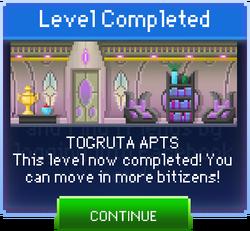 Message Togruta Apts Complete