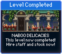 Message Naboo Delicacies Complete