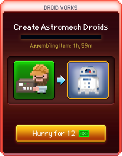 Astromech Droids start