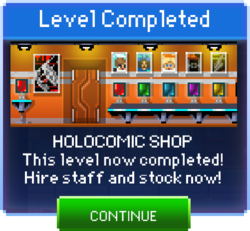 Message Holocomic Shop Complete