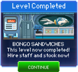 Message Bongo Sandwiches Complete