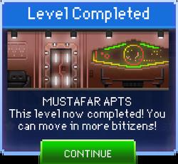 Message Mustafar Apts Complete