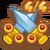Quest icon swordsCrossed 4of4@2x