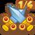 Quest icon swordsCrossed 1of4@2x