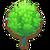 Green tree-questicon