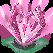 Decoration 2x2 valentine crystal bank@2x