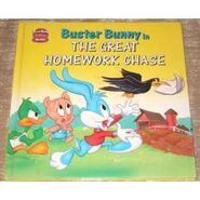 Buster Bunny in The Great Homework Chase