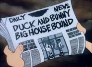 Duck&BunnyBigHouseBoundNewspaper