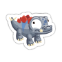 Sticker stegosaurus1@2x