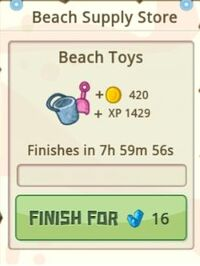 Recipe Beach Toys started
