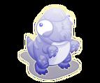 Ghost pachycephalosaurus toddler@2x
