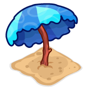 Decoration beachumbrella blue thumbnail@2x
