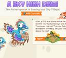 A Sky High Dino Challenge