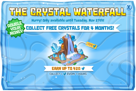 Modals theCrystalWaterfall@2x