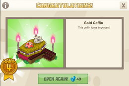 Spooky 4 goldcoffin