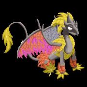 Dino-falleafdragonyellow-s4-sit@2x