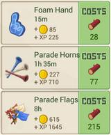 RecipeMenu ParadeShop