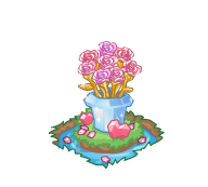 Decoration crystalrose bouquet@2x