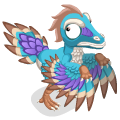 Archaeopteryx adult@2x
