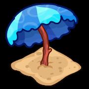 Decoration beachumbrella blue thumbnail@2x
