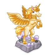 Decoration yellowunicornstatue thumbnail@2x
