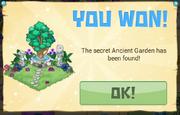 PrizeAnnouncement AncientBingo Garden