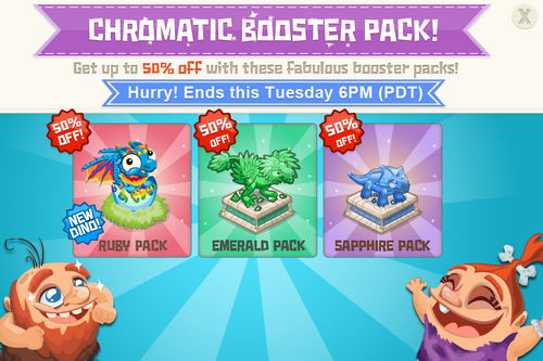 Modals BoosterPack boosterPackChromatic@2x