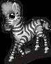 Lucille zebra single