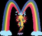 Rainbow betta an