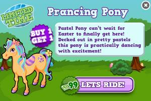 Pastel pony modal