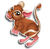Goal kangaroo rat icon