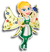 Goal alpine fairy icon