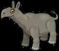 Paraceratherium single