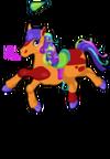 Birthday pony an