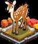 Autumn deer single