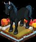 Autumn horse single