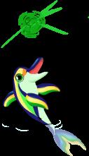 Emerald dolphin an