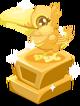 Toucan baby trophy