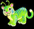 Deep space tiger single