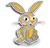 Goal mercury rabbit icon