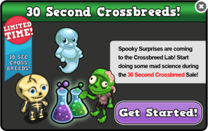 Spooky 30 second breed modal