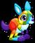 Cubby Kangaroo Rainbow single
