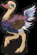 Arabian ostrich single