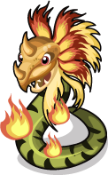 Aztec Fire Serpent single