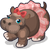 Ballerina Hippo single