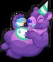 Birthday cake bear single